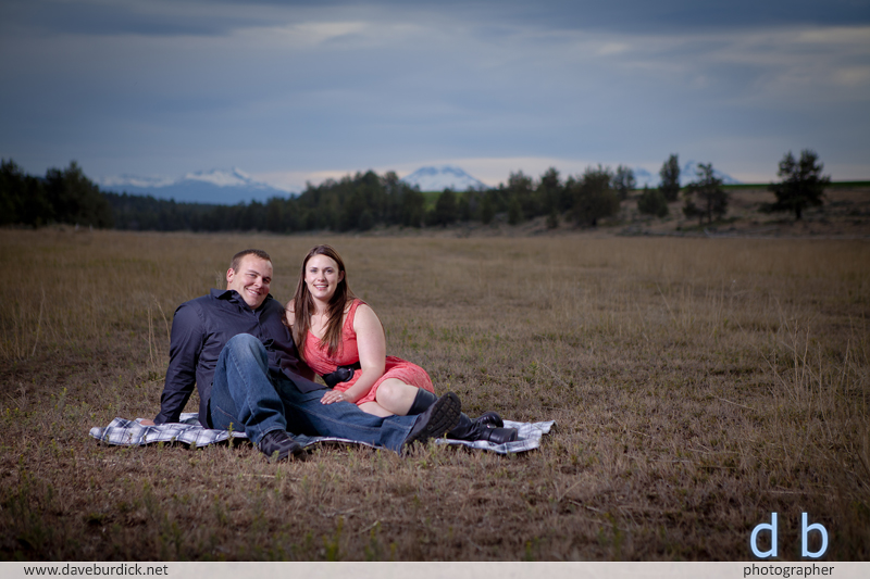 Central Oregon wedding and engagement photography by Dave Burdick Photographer